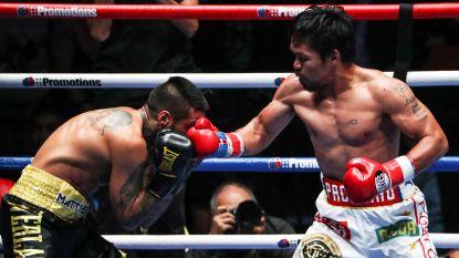 Pacquiao enige bokser met wereldtitels in acht verschillende gewichtsklassen