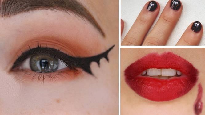 3 makkelijke make-up looks voor Halloween om toch een beetje in de 'moo-hoo-hood' te komen