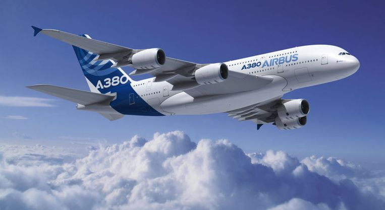 null Beeld Airbus A380