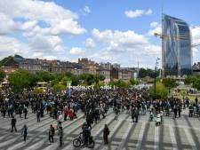 700 personnes réunies à Liège en hommage à George Floyd