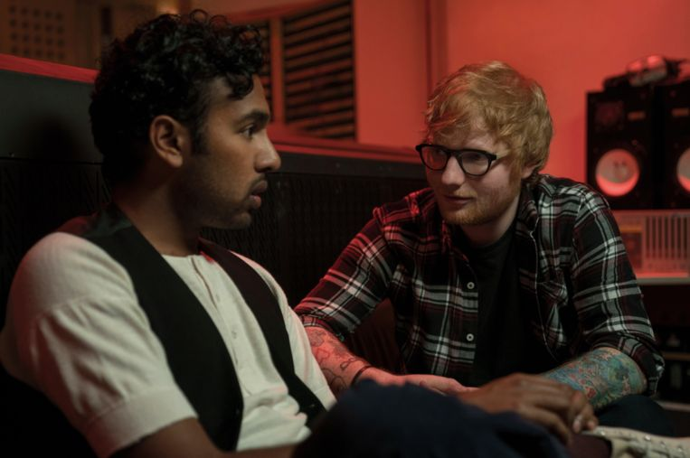 Himesh Patel en Ed Sheeran in 'Yesterday'.