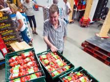 Tomaten (te) over bij de Alphense Voedselbank