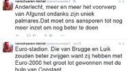 """Verschueren hard op Twitter: """"Die van Brugge en Luik zouden beter zwijgen"""""""
