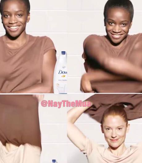 Dove biedt excuses aan na kritiek over racisme in reclame