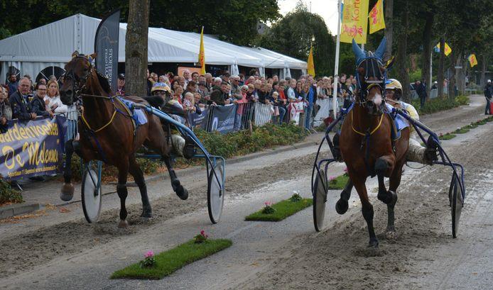 De kortebaanwedstrijd op de Teselaar in Bemmel, vorig jaar.