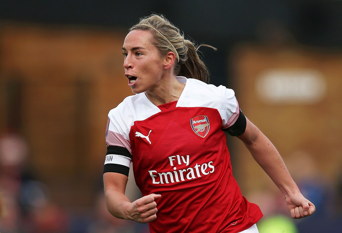 Arsenal-captain Jordan Nobbs.