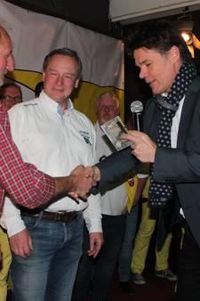 CD-presentatie De Biermagneten door burgemeester van Breda Paul Depla