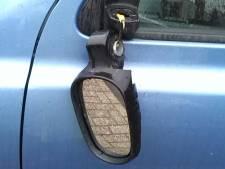 Vandalen houden huis in Bilthoven en Maartensdijk: spoor van stukgetrapte autospiegels