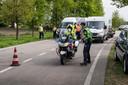 Grote controle met politie mannen en vrouwen
