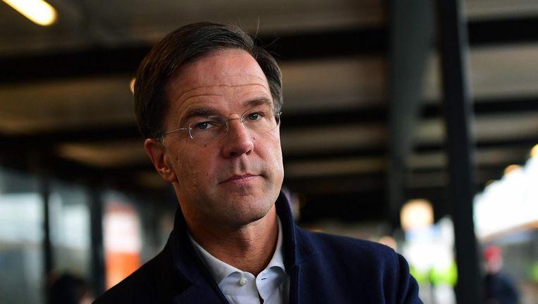 Wat betreft Mark Rutte wordt geen haast gemaakt met de wet voor 'voltooid leven'. Beeld afp