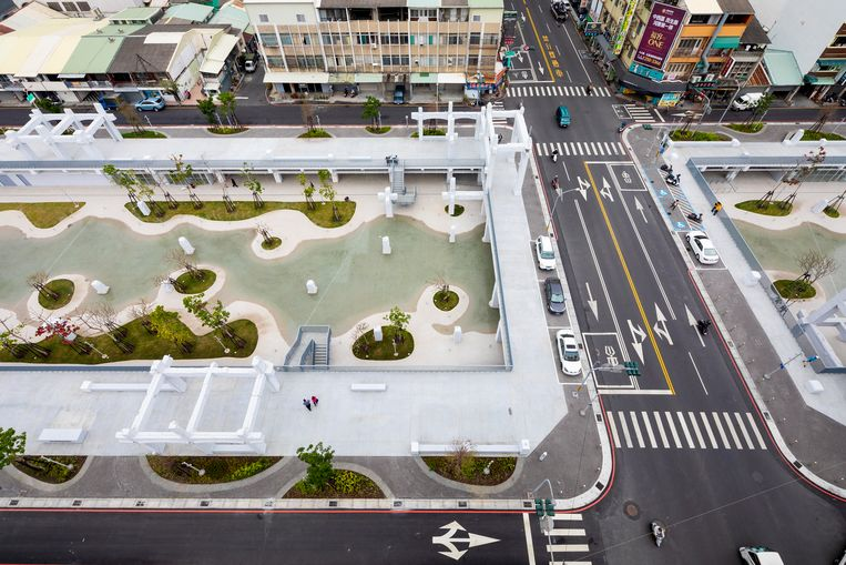 Project Tainan Spring. Beeld MVRDV