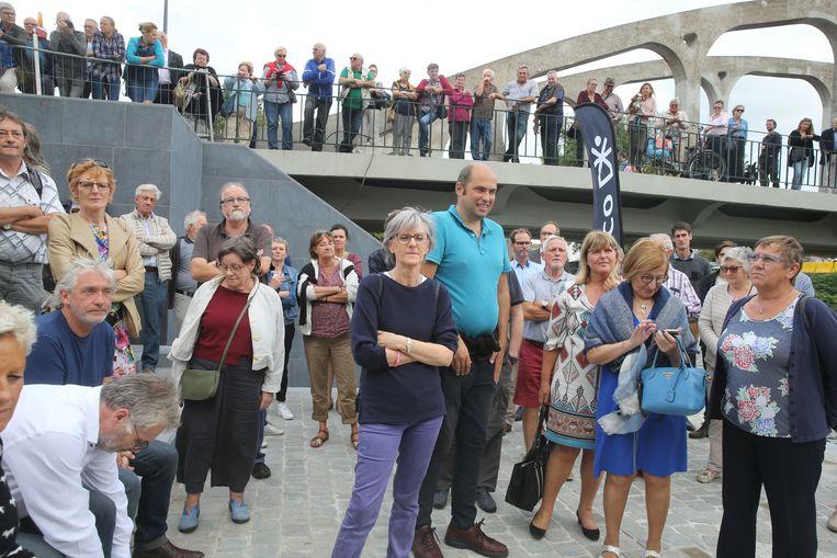 Opening van het hernieuwd Drongenplein.