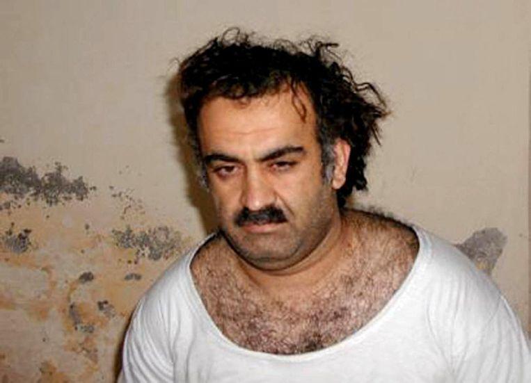 Khalid Sheikh Mohammed vlak na zijn gevangenname in 2003