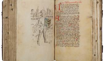 Na eeuwen is het manuscript terug in het familieslot