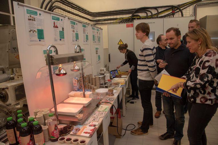 De nieuwe demoruimte bij Food Pilot werd geopend met demonstraties van klanten uit de voedingsindustrie.