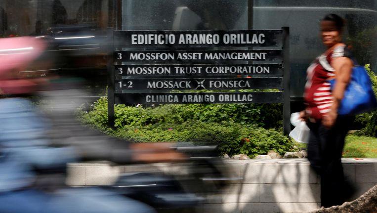 Het kantoor van MossackFonseca in Panama. Beeld Reuters