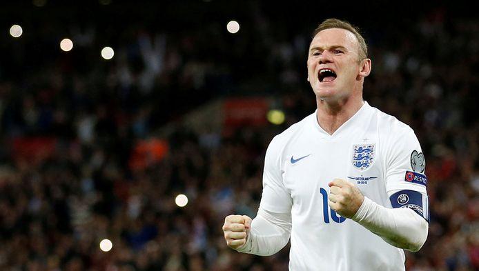 Wayne Rooney is Engels topschutter aller tijden.