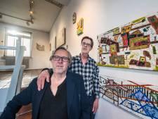 Broers exposeren in Enschede: kunst met karakter
