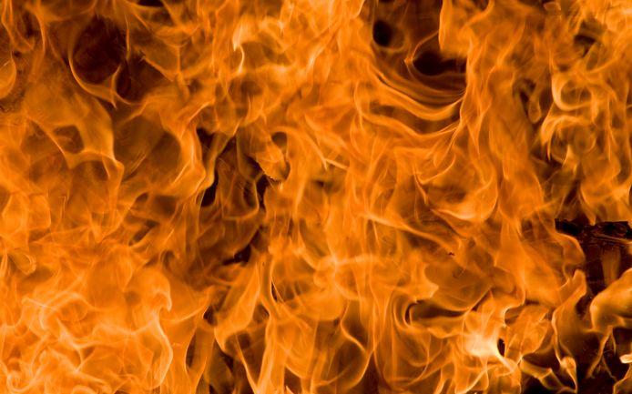 2009-11-09 00:00:00 RIJSWIJK - Vuur. ANP XTRA LEX VAN LIESHOUT