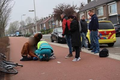 Jongen komt met voet vast te zitten tussen fietsspaken en wordt door brandweer bevrijd in Breda