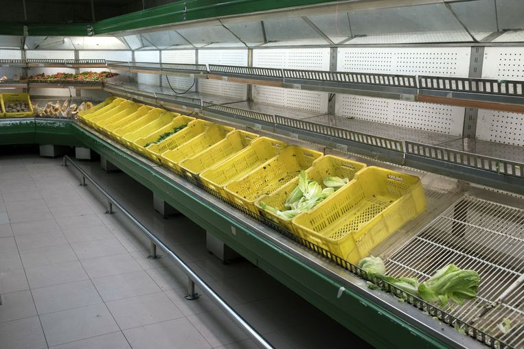 Supermarkt in Caracas. Beeld Bloomberg via Getty Images