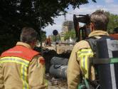 Gaslek door werkzaamheden aan Kanaaldijk-Zuid in Eindhoven