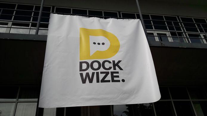 Vorige week werd het nieuwe beeldmerk van de  innovatiehotspot Zeeland in Vlissingen onthuld.  Foto Frank Balkenende