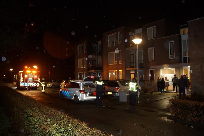 Keukenbrand in Waalwijk.