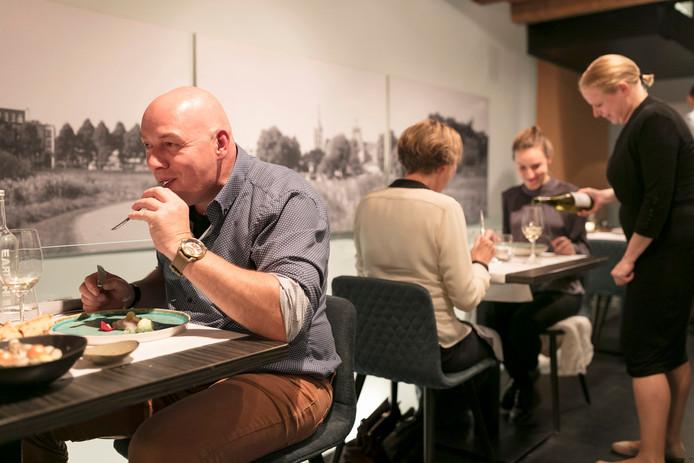 Genieten van heerlijk eten en uitstekende wij bij Le Vin'x.