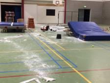 Ouders van vandalen gymzaal Berkel melden zich bij politie