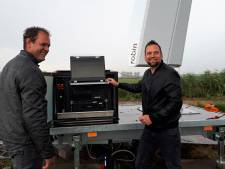 Radar spot vogels in polder bij Nuland en Rosmalen
