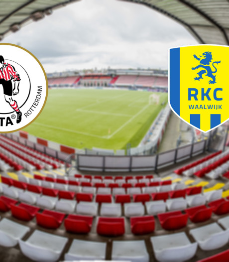 Promovendi Sparta en RKC Waalwijk treffen elkaar in Rotterdam