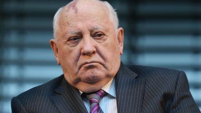 Voormalige Sovjetleider Gorbatsjov waarschuwt voor nieuwe Koude Oorlog