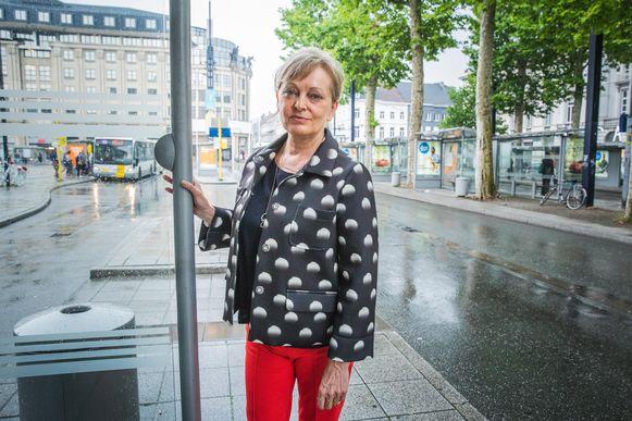 Mieke Bouve werd vorige vrijdag aangepakt door de kinderbende aan de Zuid