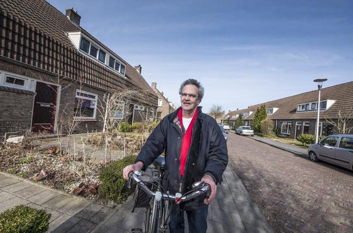 Vincent Mulder pleit met zijn SP voor behoud van de woningen.