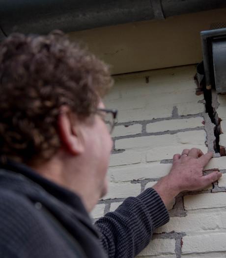 Het huis van Bert uit Dreumel zit vol met scheuren: 'Het water was altijd hóóg, niet láág'