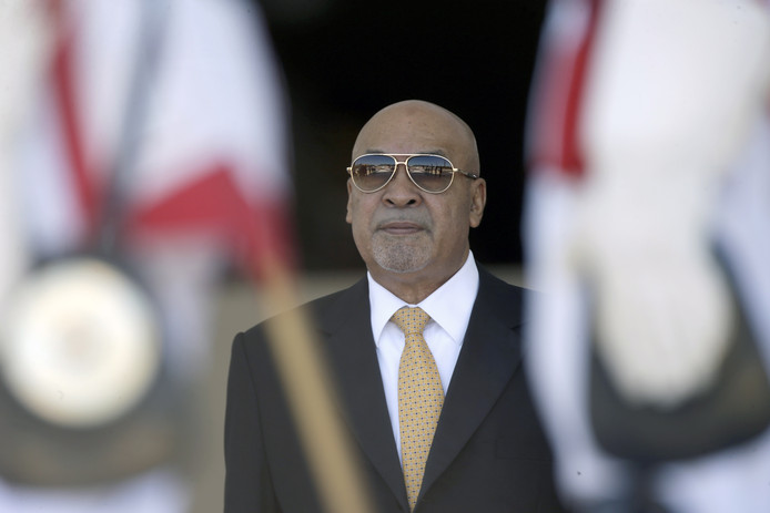 Desi Bouterse in 2018.