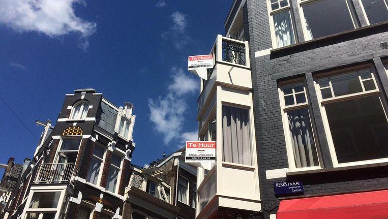 De Huurdersvereniging Amsterdam is weer vier leden kwijt Beeld Het Parool