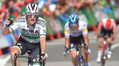 Bennett grijpt schaarse sprinterskans in Oviedo, massale val ontsiert finale