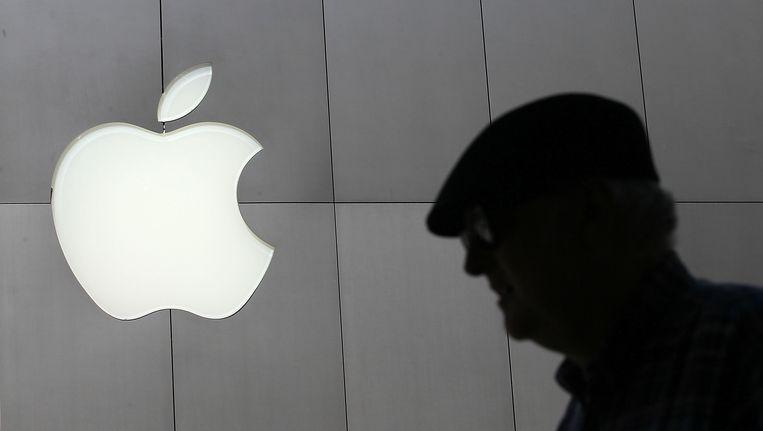 Apple-logo. Beeld AFP