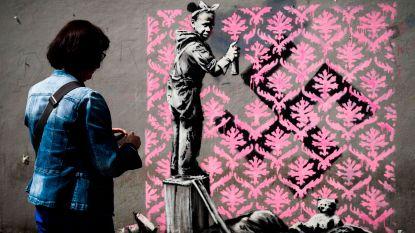 Is Banksy aan het werk in Parijs?