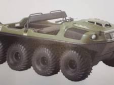 Gestolen amfibievoertuig van 25.000 euro gezien in Zwolle en Hattem