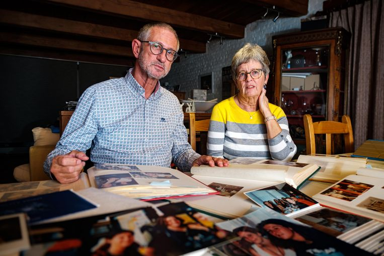 Paul en Betty Marchal, de ouders van An.