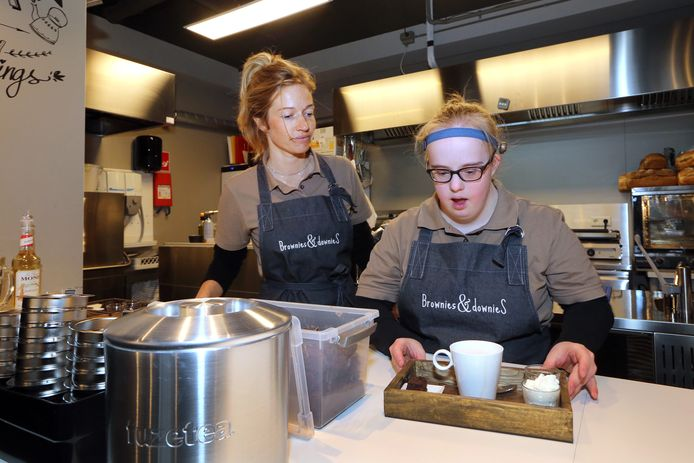 Brownies & Downies in Etten-Leur (archieffoto).