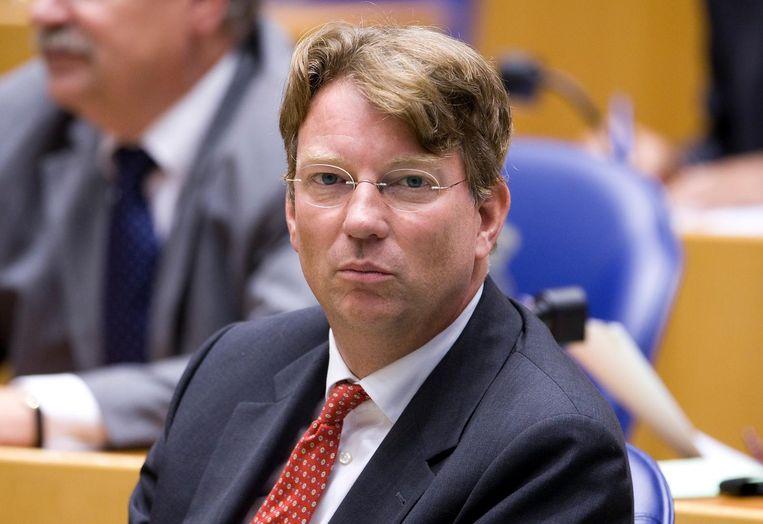 Arend Jan Boekestijn zal zijn hoed opeten, zo beloofde hij op Twitter. Beeld ANP