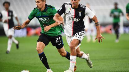 LIVE. Ronaldo verzilvert penalty voor Juventus nadat het voor rust zwaar afzag tegen Atalanta met Castagne