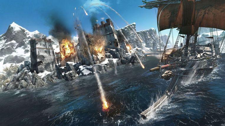 Een groot deel van Assassin's Creed Rogue speelt zich af op zee. Beeld Ubisoft