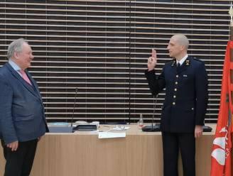 Kolonel Thierry Van Goethem legt eed af als zonecommandant Hulpverleningszone Waasland