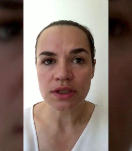 Svetlana Tichanovskaja kan niet op tegen macht dictator: 'Kinderen zijn belangrijkste'