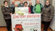 ACV Ardooie-Koolskamp geeft Sint-Maartenshuis financieel duwtje